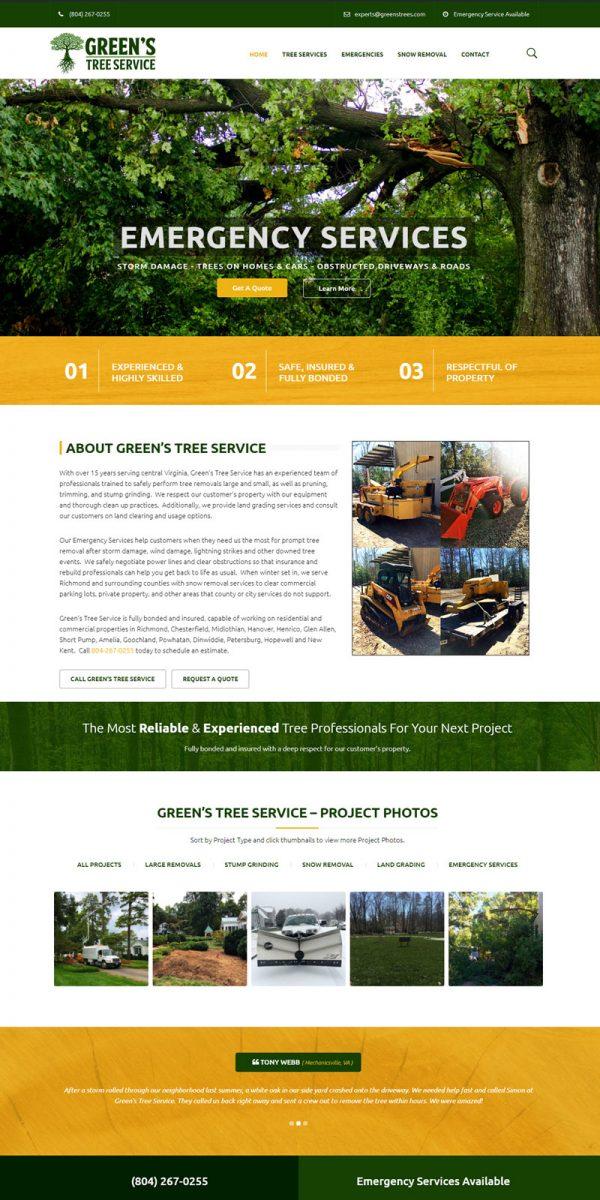 Greens Tree Service