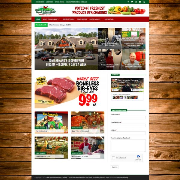 Tom Leonard's Farmer's Market - Glen Allen, VA